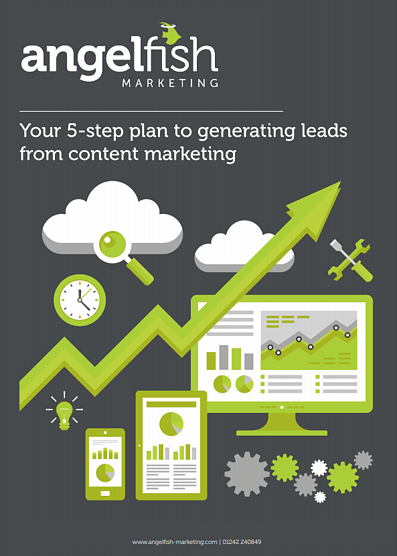 5 step lead gen cover angelfish marketing