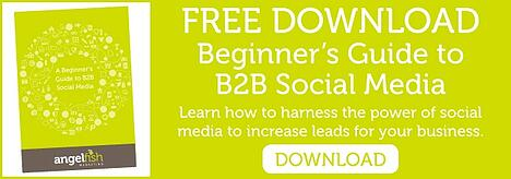 Beginners Guide to B2B Social Media