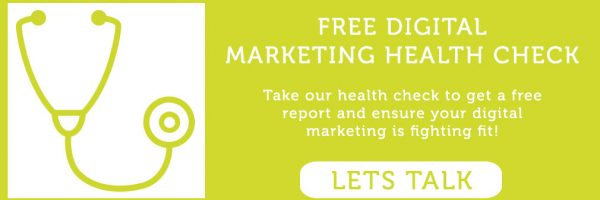 Digital Marketing Health Check