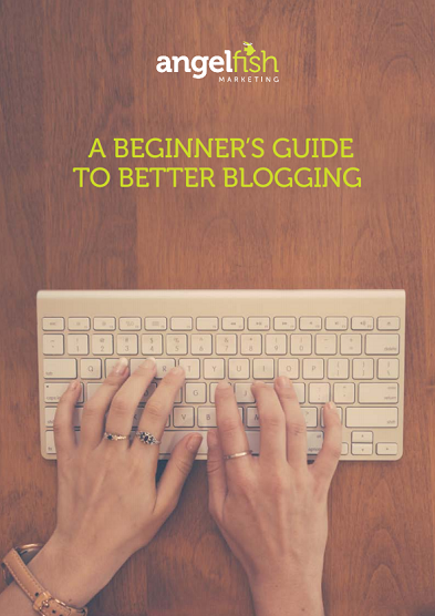 beginners guide to blogging angelfish marketing cover