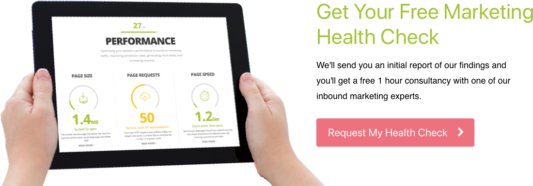 Free digital marketing healthcheck